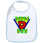 Superhero Super Dad Bib