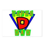 Superhero Super Dad Postcards (Package of 8)