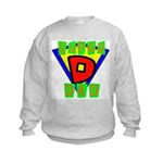 Superhero Super Dad Kids Sweatshirt