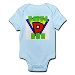 Superhero Super Dad Infant Creeper