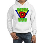 Superhero Super Dad Hooded Sweatshirt