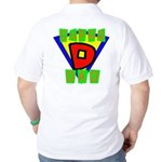 Superhero Super Dad Golf Shirt