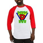 Superhero Super Dad Baseball Jersey