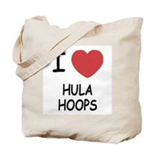 I heart hula hoops Tote Bag