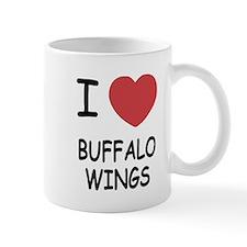 I heart buffalo wings Mug
