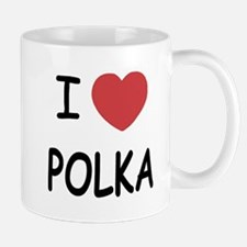 I heart polka Mug