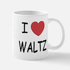 I heart waltz Mug