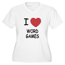I heart word games T-Shirt