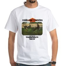 Official r/Ostriches T-Shirt (White)