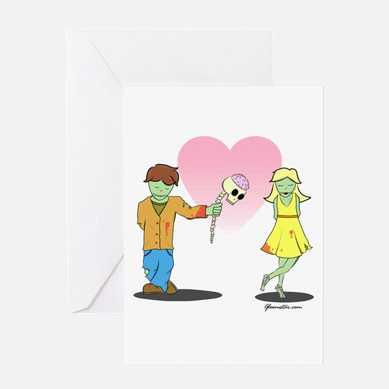 Zombie Card Greeting Card