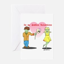 Be My Zombie Valentine Greeting Cards (Pk of 10)