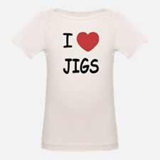 I heart jigs Tee