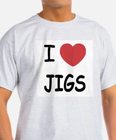 I heart jigs T-Shirt