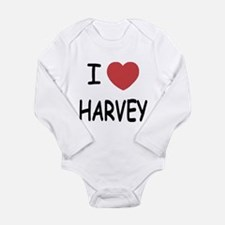 I heart harvey Long Sleeve Infant Bodysuit