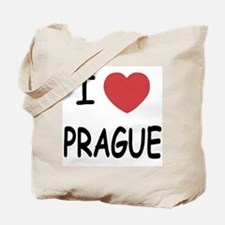 I heart prague Tote Bag