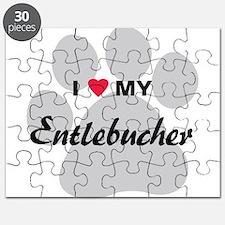 I Love My Entlebucher Puzzle