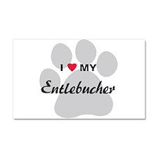 I Love My Entlebucher Car Magnet 20 x 12