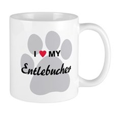 I Love My Entlebucher Small Mug