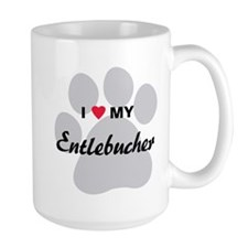 I Love My Entlebucher Mug