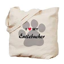 I Love My Entlebucher Tote Bag
