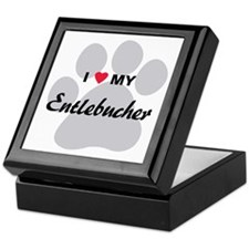 I Love My Entlebucher Keepsake Box