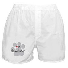 I Love My Entlebucher Boxer Shorts