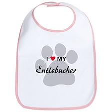 I Love My Entlebucher Bib