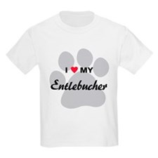 I Love My Entlebucher T-Shirt