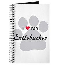 I Love My Entlebucher Journal