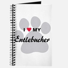 I Love My Entlebucher Journal