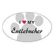 I Love My Entlebucher Decal