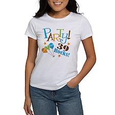 39 Rocks 39th Birthday Tee