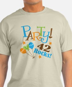 42 Rocks 42nd Birthday T-Shirt