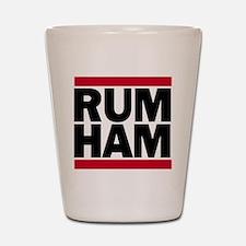 RUM HAM Shot Glass