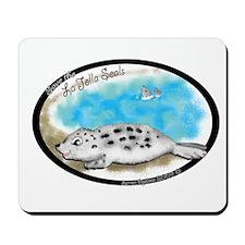 La Jolla Seals Mousepad