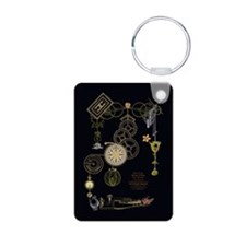 Steampunk Oceans of Time Keychains