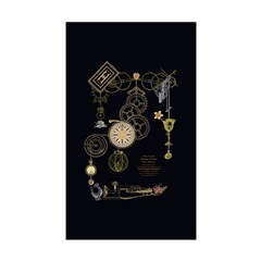Steampunk Oceans of Time Sticker (Rectangle 10 pk)
