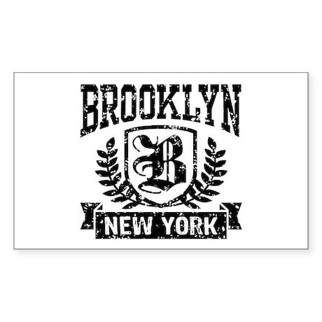 Brooklyn NY Sticker (Rectangle)