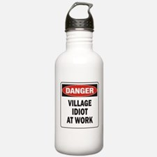 Idiot Water Bottle