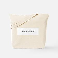 Balasubas Tote Bag