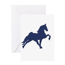 Cute Tennessee walking horses Greeting Card