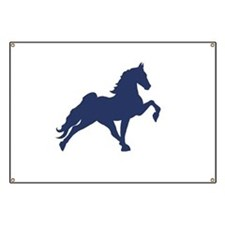 Unique Tennessee walking horse Banner