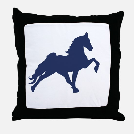 Unique Tennessee walking horse Throw Pillow