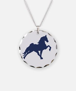 Funny Walking horse Necklace