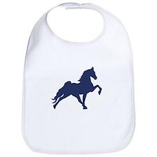Funny Tennessee walking horse Bib