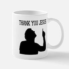 Thank You Jesus - Tebowing Mug