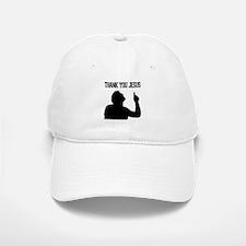 Thank You Jesus - Tebowing Baseball Baseball Cap