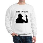 Thank You Jesus - Tebowing Sweatshirt