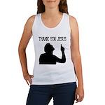 Thank You Jesus - Tebowing Women's Tank Top