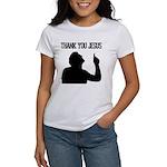 Thank You Jesus - Tebowing Women's T-Shirt